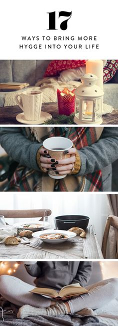 If you've yet to jump aboard the hygge train, grab your loved ones, consult the list below and get to it.