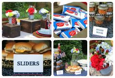 Great Barbecue Ideas   Celebrations at Home styles a Country-Chic BBQ Party and even includes ...