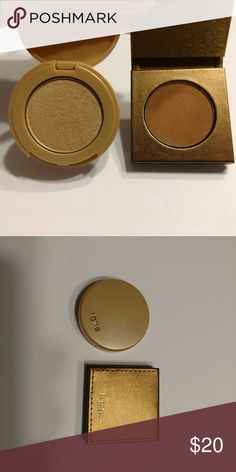 Tarte highlighter and bronzer Highlighter shade  Exposed Highlight. Bronzer  shade  Hotel Heiress. Swatched. Both mini tarte Makeup Bronzer c045b5d7c5d3