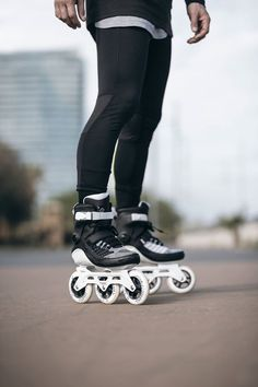 Ready for a morning workout? Your Powerslide Swell triskates are waiting for you!