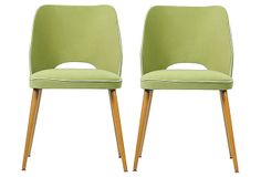 Aubrey Dining Chairs, Set of 2 on OneKingsLane.com