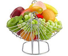 Amazon.com | Bestwoohome Stainless Steel Metal Swing Fruit Vegetable Bowl…