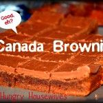 Canada Day & Recipe for Canada Brownies (plus a kabob because I LOVE them)
