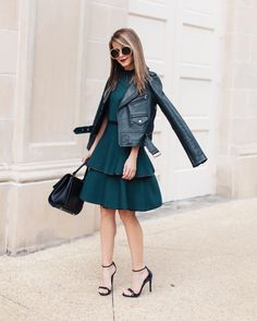 From fall to winter, this look can do both.   TheStyleBungalow.com