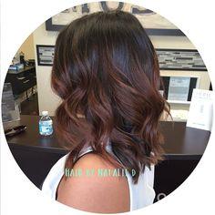 #ShareIG #balayage #balayagehaircolor #balayagehighlights #hairpainting #hairbynatalied #hairstylistsinla #hairstylistsinoc #hairstylistsinglendora #brunettebalayage #brunettehaircolor