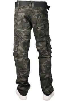 134cf01e55f6 Jordan Craig Camo Slim Fit Cargo Pants Charcoal - Black - Cement Gray Sz.  32x30  35.00
