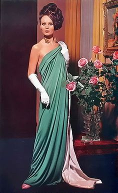 Grès (Germaine Krebs) Evening Gown, 1963