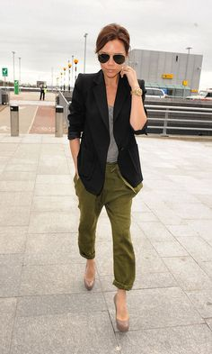 VB - how to make a casual style so chic…..