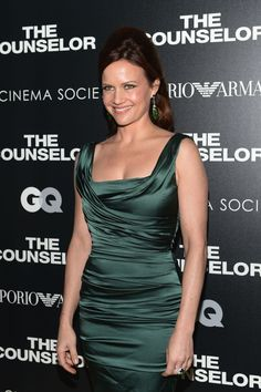 Carla Gugino at Men's Health Anniversary Celebration in New York, October Carla Gugino, 25th Anniversary, Celebrity Pictures, American Actress, Gq, New York, Actresses, Formal Dresses, Celebrities