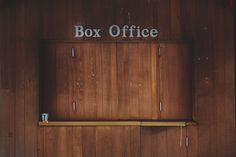 The Delacorte Theatre box office in Central Park.