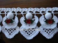 crocheted angel pattern