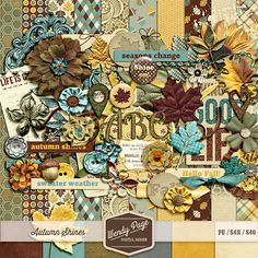 wpd-AutumnShines-preview by #wendypage #thestudio #digitalscrapbooking