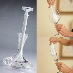 Casa Cuesta Sto Dgo: Cepillo para limpiar garrafas copas y decantadores.  ✔ ▼
