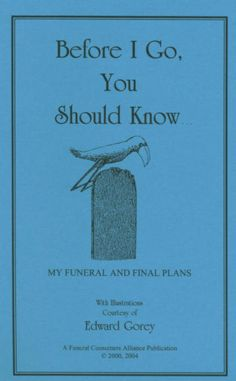 Funeral Consumers Alliance - nonprofit organization to protect consumers rights. - is-sit tiegħi Emergency Binder, In Case Of Emergency, Funeral Planning Checklist, Emergency Planning, Funeral Planner, When Someone Dies, Will And Testament, Life Binder, Funeral Memorial