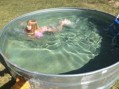 How to Make a Stock Tank Pool. How to Make a Stock Tank Pool – Embracing Motherhood. Stock Pools, Stock Tank Pool, Above Ground Pool, In Ground Pools, Galvanized Stock Tank, Water Trough, Pool Filters, Diy Pool, Pool Designs