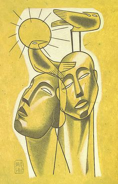 'brothers in the sweltering sun' by david hile David, Sun, Fine Art, Visual Arts, Solar