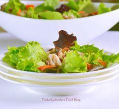 Funke Koleosho's Food Blog: Smoked Mackerel Salad