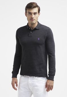 Polo Ralph Lauren - Piké - black coal heather