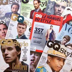 Vogue Hommes, British GQ Style, GQ Le Manuel Du Style, GQ Style Russia, GQ Style Germany, GQ Style South Africa, GQ Style China, GQ Style Brazil, GQ Style Turkey, GQ Style Taiwan- See more: www.condenastinternational.com/shop www.instagram.com/condenastworldwidenews email: cnwwn@condenast.co.uk for enquiries