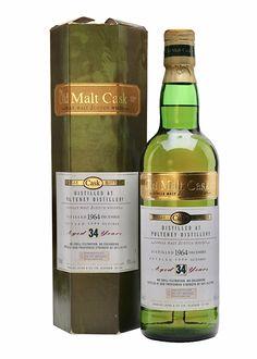 Old Pulteney 1964 - 34 Year Old Old Malt Cask World Of Whisky, Whisky Club, Malt Whisky, Girl Body, Distillery, Cellar, Scotch, Bourbon, Whiskey