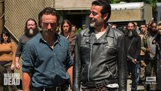 Rick and Negan