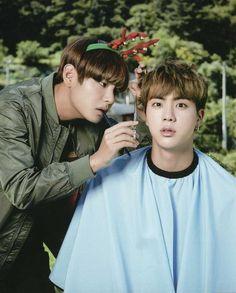 Taehyung & Seokjin