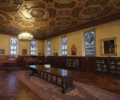 America's Most Beautiful College Libraries | Armstrong Browning Library, Baylor University.     Sic 'em