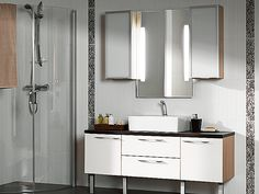 Faucet: La cucina Alessi by Oras Double Vanity, Kitchen Cabinets, Alessi, Home Decor, Bathroom Vanity, Kitchen, Bathroom, Faucet, Bathroom Design