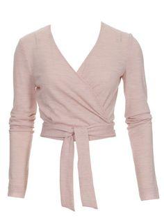 115 1112 B Blouse Patterns, Sewing Patterns, Knitting Patterns, Shirts & Tops, Ballet Wrap Top, Patron T Shirt, Wrap Shirt, Blouse Outfit, Top Pattern