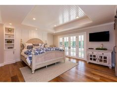 Los Gatos House Sold - and a matching coffered ceiling in the bedroom, w/built-ins, french doors, nice hardwood floors too*