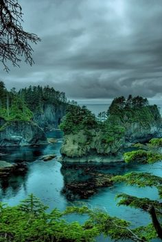 Cape Flattery is the northwesternmost point of the contiguous United States. It is in Clallam County, Washington on the Olympic Peninsul...
