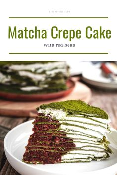 Our Private Reserve Matcha Green Tea Powder delivers a mega dose of antioxidants in every sip. My Dessert, Dessert Drinks, Diet Desserts, Fun Desserts, Best Matcha, Matcha Cake, Crepe Cake, Green Tea Powder, Red Beans