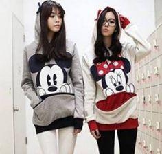 Moletom Mickey and Minnie