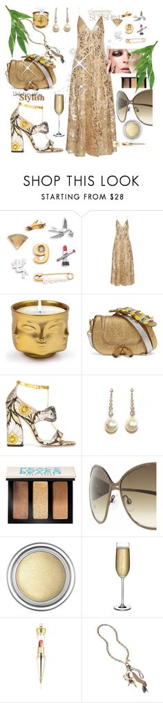 """""""Untitled #1081"""" by csfshawn ❤ liked on Polyvore featuring Marc Jacobs, Haney, Jonathan Adler, Anya Hindmarch, Gucci, Bobbi Brown Cosmetics, Giorgio Armani, Roberto Cavalli, Christian Dior and Nude"""