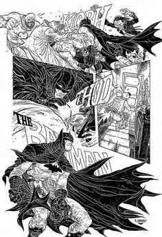 DC COMICS - Batman Black and White | Flickr - Photo Sharing!