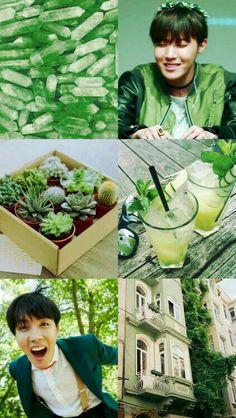 #green #bts