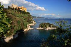 Castle of Duino (Trieste), Friuli-Venezia Giulia, Italia