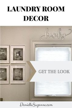 Laundry Room Decor Ideas  #laundryroomideas #design #decor #makeover #organization #storage