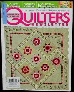 Quilters Newsletter magazine 2012 Feb/Mar