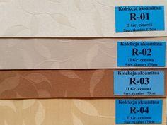 Wzornik tkanin rolet materiałowych - Dobrerolety.pl - rolety, moskitiery, plisy