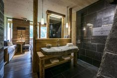 Kult Hotel in Leogang: mama thresl - The Chill Report Alpine Hotel, Hotel In Den Bergen, Tolle Hotels, Das Hotel, Alps, Double Vanity, Chill, Urban, Ireland Travel