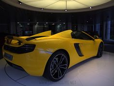 Cars & Life | Cars Fashion Lifestyle Blog: McLaren MP4-12C Spider from London #PinItForwardUK