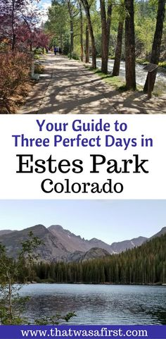 Most visitors say that every day in Estes Park is perfect. Here is your guide to how your family can have three perfect days in this mountain town. Estes Park Colorado, Road Trip To Colorado, Skiing Colorado, Colorado Springs, Estes Park Camping, Colorado Vacations, Colorado Tourism, Canyon Colorado, Colorado Winter