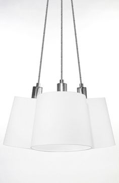 Taklampe THREE hvit