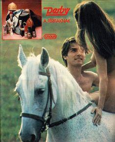 A legnépszerűbb magyar férfi modellek, fotómodellek, manökenek (RETRÓ): Gajdos Tamás modell Vintage Advertisements, Vintage Ads, 80s Ads, Retro, Hungary, Robots, Kinky, Advertising, Horses