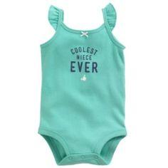 """Carter's """"Coolest Niece Ever"""" Bodysuit - Baby"""