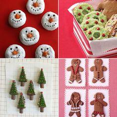 Bite size christmas desserts