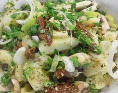 ΠΑΤΑΤΟΣΑΛΑΤΑ Salad Bar, Potato Salad, Food Processor Recipes, Salads, Appetizers, Potatoes, Tasty, Greek Beauty, Cooking