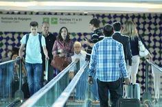 Aumento de passageiros - Aeroporto JK registra movimento recorde em janeiro
