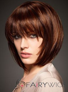 COM to choose cheap human hair wigs . You can choose long or short wigs for yourself. All affordable human hair wigs with cheap price and high quality on America web online are affordable. Bob Haircuts For Women, Short Bob Hairstyles, Wig Hairstyles, Trendy Haircuts, Winter Hairstyles, Vintage Hairstyles, Hairstyle Ideas, Mid Haircuts, Hair Ideas